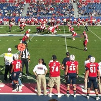 Photo taken at FAU Football Stadium by Brandy E. on 12/1/2012