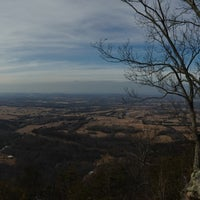 Photo taken at House Mountain Overlook by Meredith S. on 1/31/2014