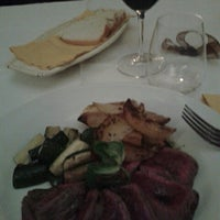 Photo taken at Osteria del Pettirosso by davide n. on 5/20/2014