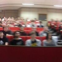 Photo taken at Lecture Theater 1 (RED) by Nia W. on 9/23/2013