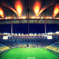 Photo taken at Mário Filho (Maracanã) Stadium by Laís A. on 7/24/2013