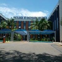Photo taken at Faculdade de Engenharia Mecânica (FEM) by Arthur R. on 1/22/2013