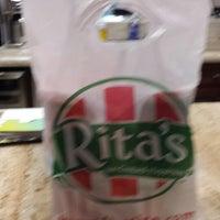 Photo taken at Rita's by Jack R. on 5/1/2014