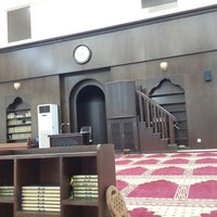 Photo taken at Masjid Khaleel by Adil A. on 1/31/2014