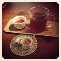 Photo taken at Samovar Tea Lounge by Frederique D. on 10/28/2012