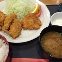 Photo taken at とんかつ一代 ボーノ相模大野店 by Tomomasa Y. on 10/9/2013