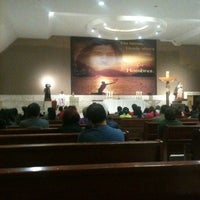 Photo taken at Iglesia San Gerardo De Mayela by Brenda P. on 3/6/2014