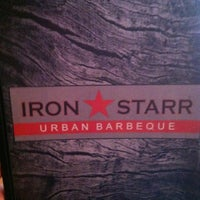 Photo taken at Iron Star Urban BBQ by Suzanne E J. on 4/6/2013