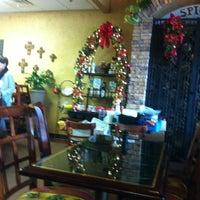 Photo taken at Nunu's Mediterranean Cafe by Suzanne E J. on 12/8/2012