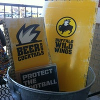 Photo taken at Buffalo Wild Wings by Suzanne E J. on 11/4/2012