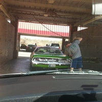 Photo taken at Edmond Car Wash by Suzanne E J. on 3/16/2013