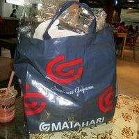 Photo taken at Matahari Dept. Store by Yuanita K. on 1/1/2014