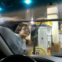Photo taken at Shell by Paulina on 7/28/2013