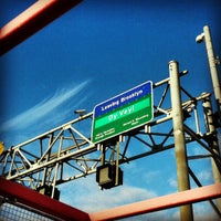 Photo taken at Williamsburg Bridge by Emily V. on 12/8/2012