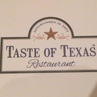 Photo prise au Taste of Texas par Kangdon L. le9/7/2014