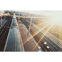 Photo taken at Остановка «Московский вокзал» by Elena K. on 3/10/2015
