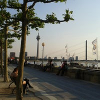 Photo taken at Rheinuferpromenade by Stefan H. on 6/7/2013
