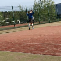 Photo taken at Impivaaran Tenniskenttä by Venla A. on 5/24/2015