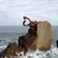 Photo taken at Peine del Viento by Mini on 12/24/2012