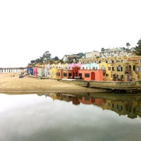 Photo taken at Capitola Beach by Ivy S. on 3/31/2013