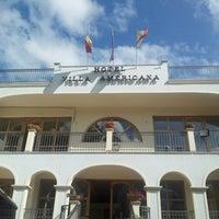 Photo taken at Park Hotel Villa Americana by Francesco D. on 6/26/2013