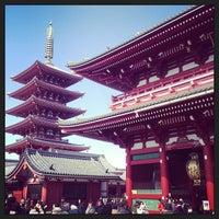 2/24/2013 tarihinde yusuke s.ziyaretçi tarafından Senso-ji Temple'de çekilen fotoğraf