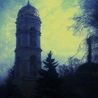 Photo taken at Храм Святителя Николая в Жегалово by Sergey🌀 S. on 3/30/2014