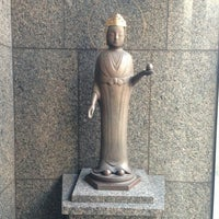 Photo taken at 恵光の像 by monjya c. on 1/3/2013