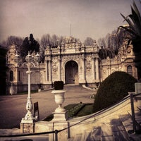 Photo taken at Dolmabahçe Palace by MN Ç. on 2/19/2013