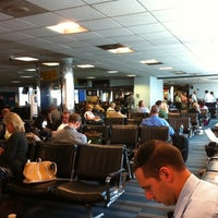 Photo taken at Concourse C by Aaron E. on 9/12/2011