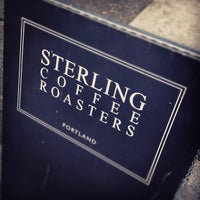 Photo taken at Sterling Coffee Roasters by Andrew H. on 11/6/2011