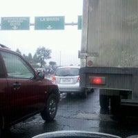 Photo taken at Autopista Simón Bolivar by Alejo P. on 1/23/2012