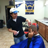 Photo taken at SD Barber Shop by Lance R. on 11/10/2011