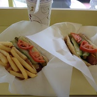 Photo taken at Hot Dog Heaven by Dieter K. on 10/31/2011