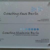 Das Foto wurde bei Coaching Akademie Berlin von Pedja J. am 8/6/2012 aufgenommen
