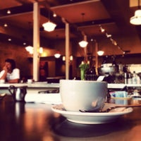 Photo taken at Annies Café & Bar by Darren J. on 3/2/2012