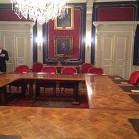 Photo taken at Hôtel de Ville / Town Hall by Joshua B. on 10/17/2013
