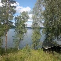 Photo taken at Mömin mökki by Ville S. on 7/15/2013