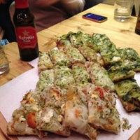Photo taken at Pizza Al Cuadrado by Jose C. on 4/2/2013