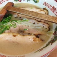 Photo taken at 九州長浜ラーメン 南州屋 by IGALOG I. on 2/9/2013