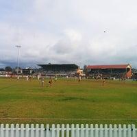 Photo taken at Glenelg Oval by Monty H. on 6/15/2014