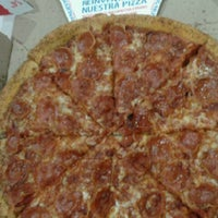 Photo taken at Domino's Pizza Centenario by Carolina G. on 9/25/2013