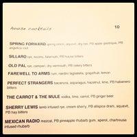 Photo taken at Plum Bar + Restaurant by Jason P. on 5/18/2013