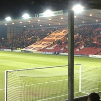 Photo taken at Sincil Bank Stadium-Lincoln City Football Club by Tom L. on 2/26/2013