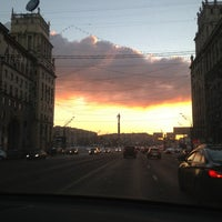 Photo taken at Ленинский проспект by Zhenya M. on 12/23/2012