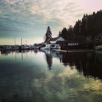 Photo taken at Gig Harbor Waterfront by Issa A. on 1/14/2013