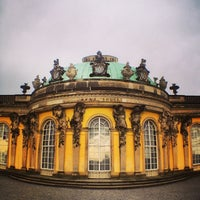 Photo taken at Schloss Sanssouci by Chris W. on 12/21/2013