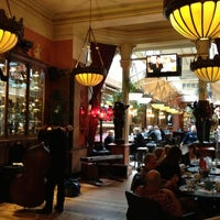 Photo taken at Café en Seine by Christian H. on 11/4/2012