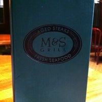 Photo taken at M&S Grill by MSB on 10/8/2012