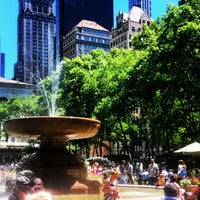 Photo taken at Bryant Park by Michelle L. on 6/4/2013